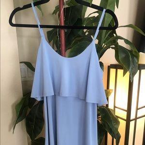 Baby Blue Mini Dress.